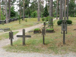 Kurenfriedhof in Nida