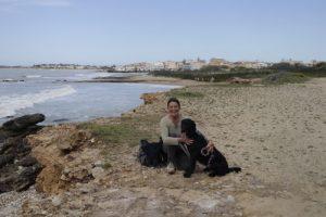 Am sizilianischen Meer-Adriana und Neriinga
