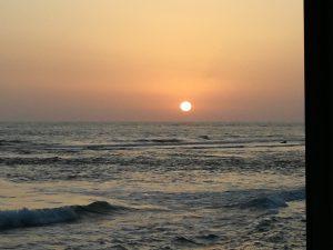Sonnenuntergang in Punta Secca