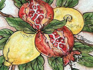 Worte sind reife Granatäpfel