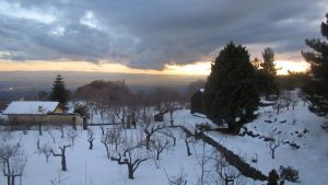 Blauer Winterblick am Ätna_Heidrun Adriana Bomke