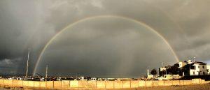 Regenbogen Punta Secca