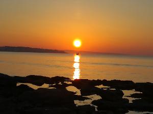 Sonnenaufgang in Punta Secca