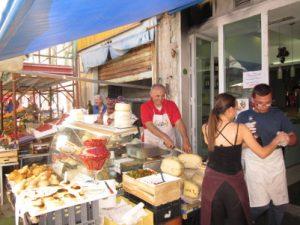 Schreibreise Syrakus, Mercato