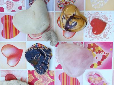 Liebesgeschichte zum Valentinstag, Heidrun Adriana Bomke